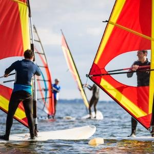 Windsurfen, Windsurfkurse, Windsurfen lernen